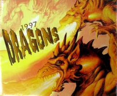 1997 Dragons Calendar