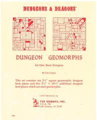 Dungeon Geomorphs Set #1 - Basic Dungeon (2nd Printing)