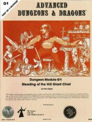 Steading of the Hill Giant Chief (Silver Anniversary Edition)
