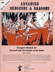 Descent into the Depths of the Earth (1st Printing)