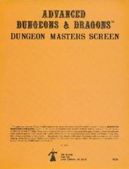 Dungeon Master's Screen (1st Printing, Blank Cover)