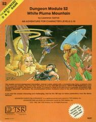 White Plume Mountain (4th+ Printing, Orange)