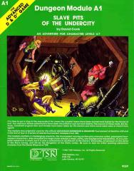 Slave Pits of the Undercity (3rd Printing, Face Logo)