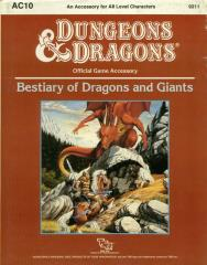 Bestiary of Dragons and Giants