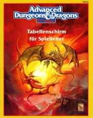 Dungeon Master's Screen w/Terrible Trouble at Tragidore (German Edition)