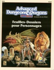 Feuilles-Dossiers pour Personnages (Character Record Sheets) (French Edition)