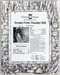 Escape from Thunder Rift