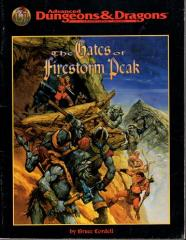 Gates of Firestorm Peak, The - Campaign Book Only!