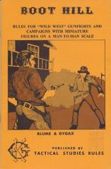 Boot Hill (1st Edition, 2nd Printing)