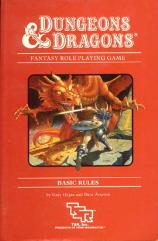 Basic Rules (UK Edition, Fifth Printing, Red)