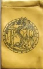 Dragon Dice - Dice Bag, Yellow