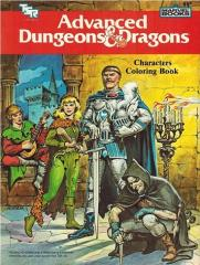 AD&D Coloring Book - Characters Coloring Book