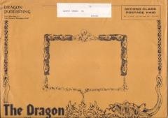 Dragon Magazine Mailing Envelope