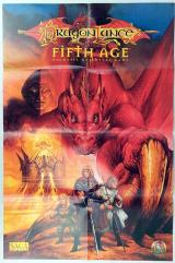 Advertisement Poster - Dragonlance - The Fifth Age