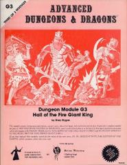 Hall of the Fire Giant King (Games Workshop/UK Edition)