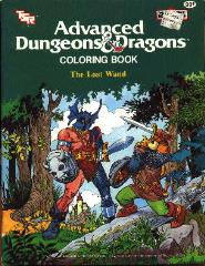 AD&D Coloring Book - The Lost Wand