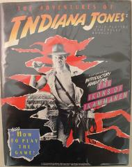 Adventures of Indiana Jones, The - Rulebook Only!