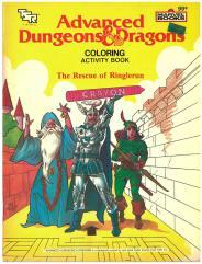 AD&D Coloring Book - The Rescue of Ringlerun