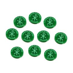 Dux Bellorum - Leadership Point Tokens, Green