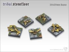 20mm Square Base - Tribal Stone Floor