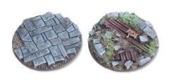 40mm Round Base Flat - Viking Raid Bases