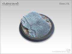 50mm Round Base w/Lip #2 - Shale Ground