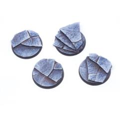40mm Round Bases - Stone Slabs