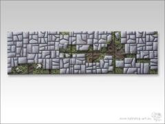 20mm Square Infantry Diorama Base - Stone Floor