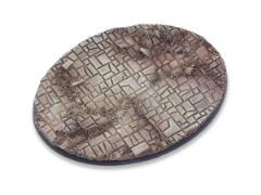 120mm Oval Base - Stone Floor