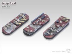 25x70mm Biker/Cavalry Base - Scrap Steel