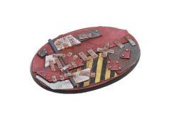 105mm Oval #1 - Scrap Steel