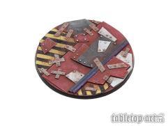 100mm Scrap Steel Bases #1