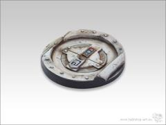 60mm Round Base #2 - Starship