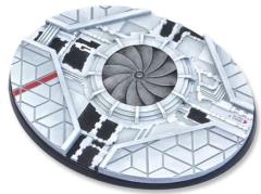 120mm Oval Base - Starship
