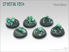 25mm Round Base - Crystal Tech
