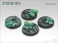 40mm Round Base - Crystal Tech