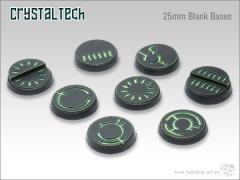 25mm Round Base - Crystal Tech, Blank