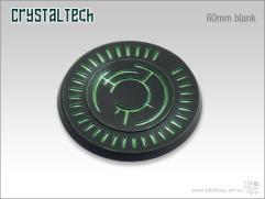 60mm Round Base - Crystal Tech, Blank