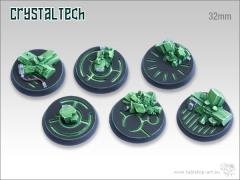 32mm Round Base - Crystal Tech