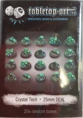 25mm Round Base - Crystal Tech (20)