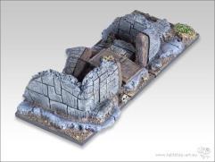 25x50mm Cavalry Diorama Base #2 - Battleground