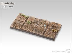 50x100mm Chariot Base - Lizard City
