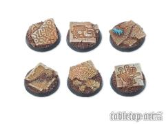 25mm Round Base - Lizard City