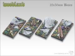 25x50mm Cavalry Base - Woodland