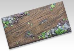 50x100mm Chariot Base - Woodland