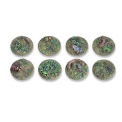 25mm Round Base - Woodland