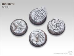 40mm Round Base w/Lip - Runestone
