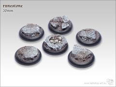 30mm Round Base w/Lip - Runestone