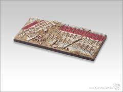 50x100mm Chariot Base #1 - Temple of Isis