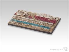 50x100mm Chariot Base #2 - Temple of Isis